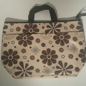 NWOT Thermal Lunch Bag in Browns